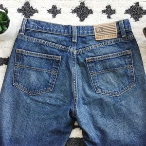 Ralph Lauren Polo Relaxed Bootcut Jeans, Size 2